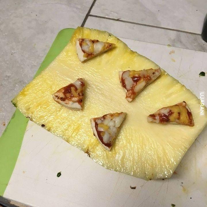Ananas z dodatkiem pizzy