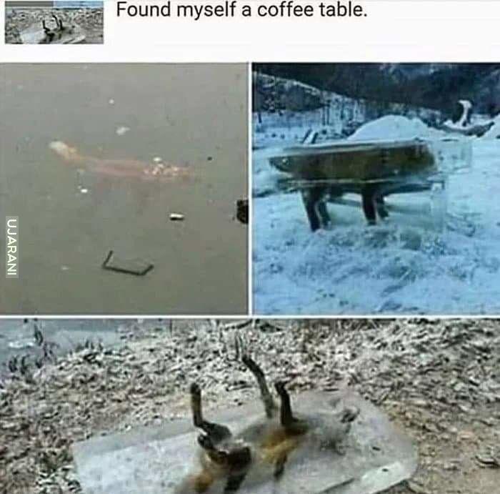Stolik na kawę xD
