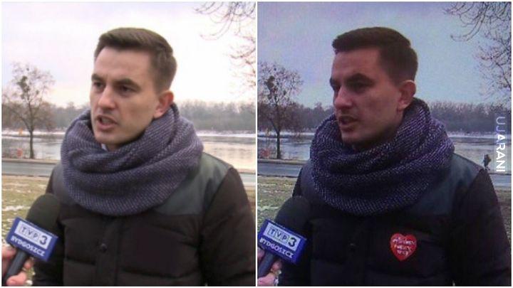 TVP wyretuszowała serduszko WOŚP