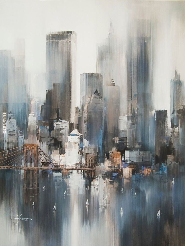 NY  by Wilfred Lang