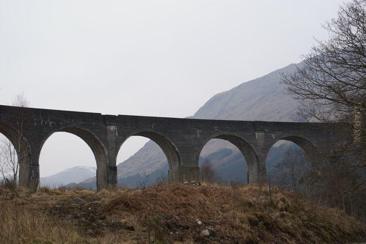 wycieczka na wiadukt glenfinnan(most Harrego Potera)
