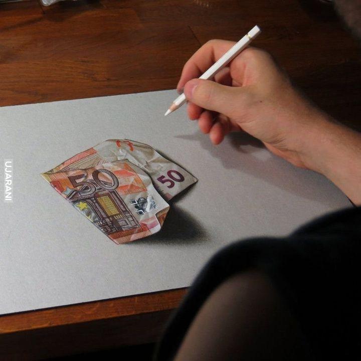 Niesamowite rysunki.