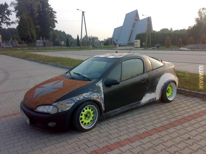 Opel tigra Visual tuning