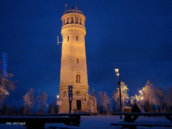 Góry Sowie - wieża widokowa