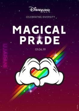 Parada gejowska we francuskim Disneylandzie jutro...