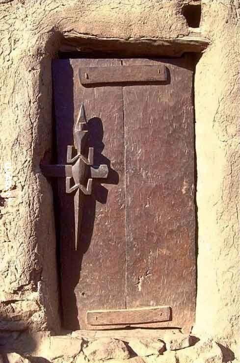 Drzwi Dogonów Afryka Zachodnia