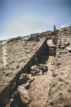 Archeologia W Maszkowicach odkryto kamienną twierdzę Szlaku Bursztynowego sprzed 4 tys. lat