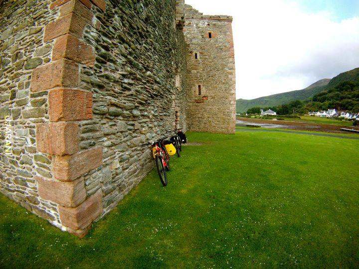 Pierwsza wyprawa rowerowa.Wyspa Arran.