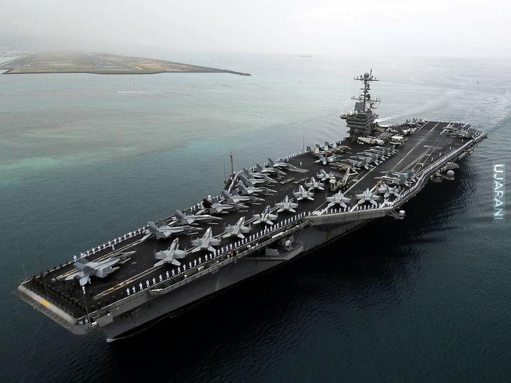 USS Dwight D- Eisenhower