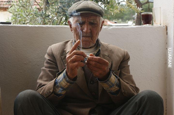 Stary Turecki chłop