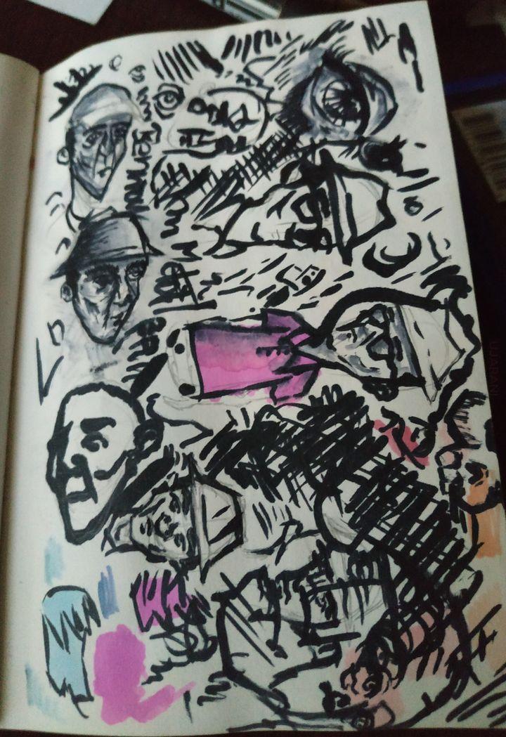 Szkicownik vol.4 - własne
