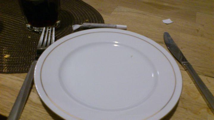 Podano do stołu :)