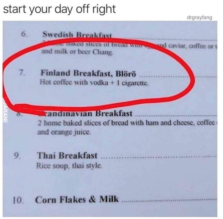Grunt to śniadanie!