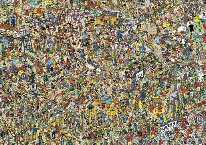 Znajdź Wally'ego