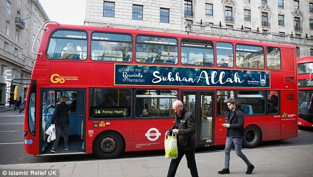 """Po UK będą jeździć autobusy z napisem """"chwała Allachowi"""""""