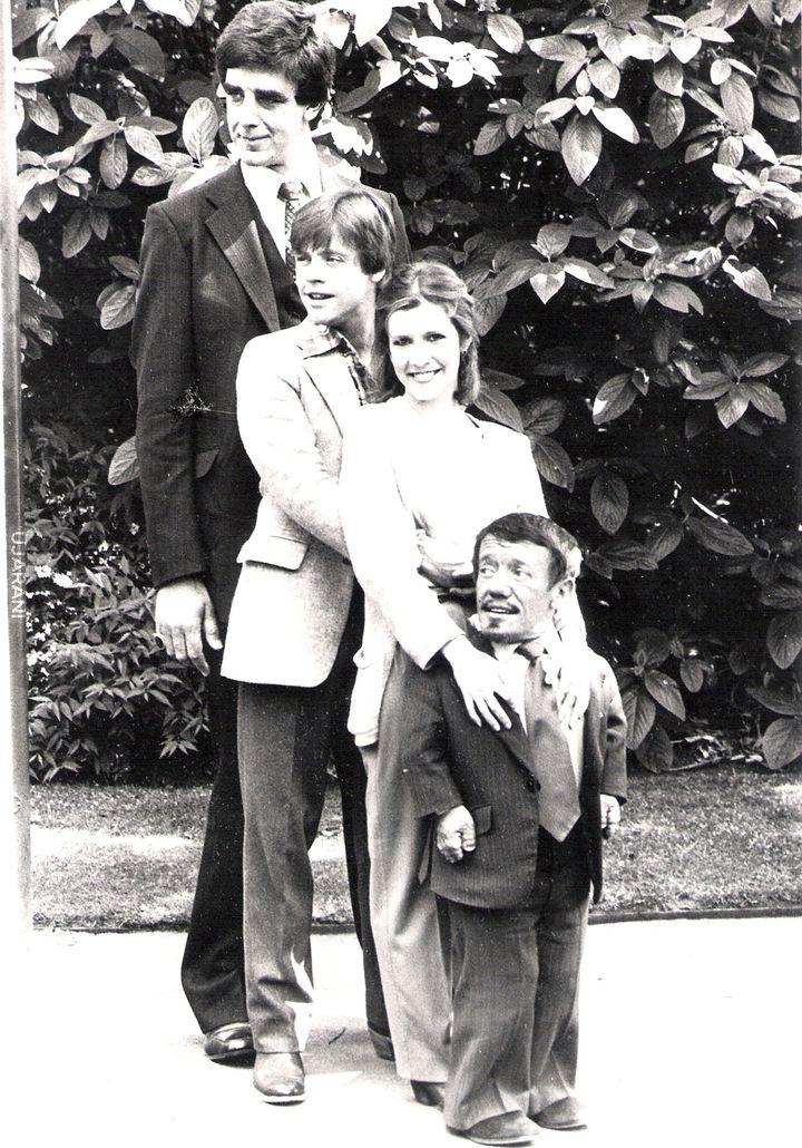 Rodzinnie R2-D2, Leia, Luk, Chewbacca