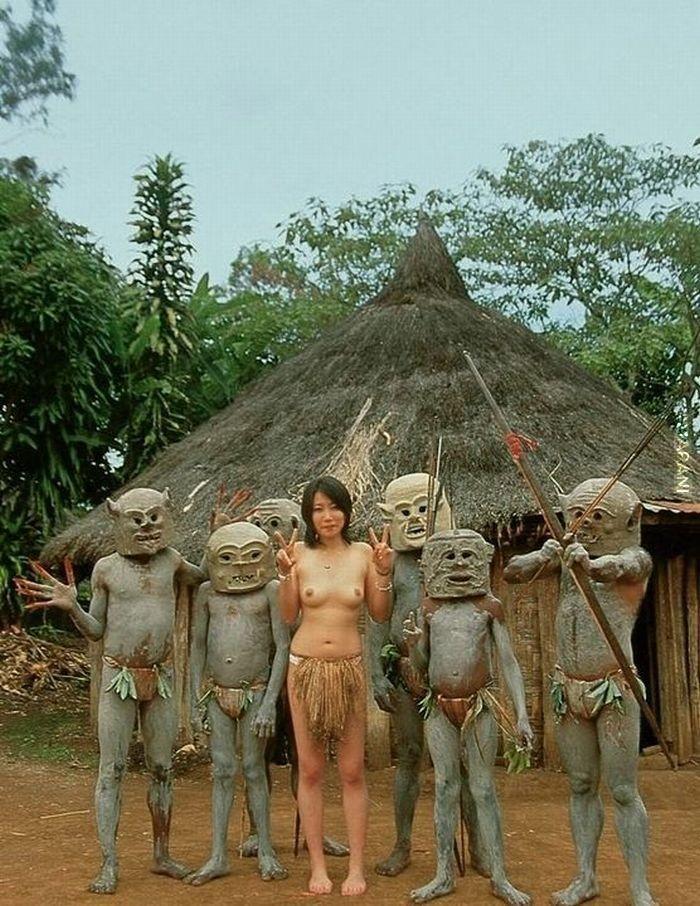 японки с аборигенами - 4