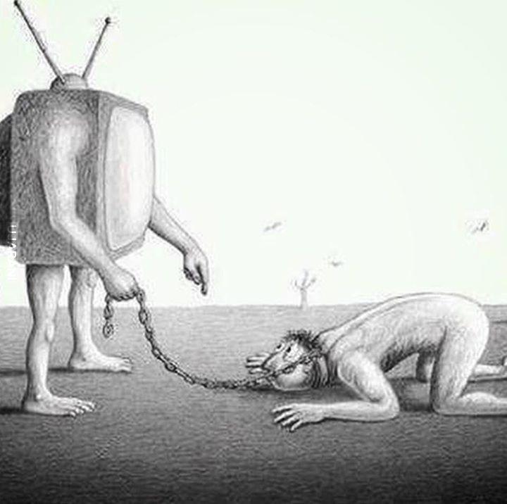 Telewizja = Niewolnictwo umysłu