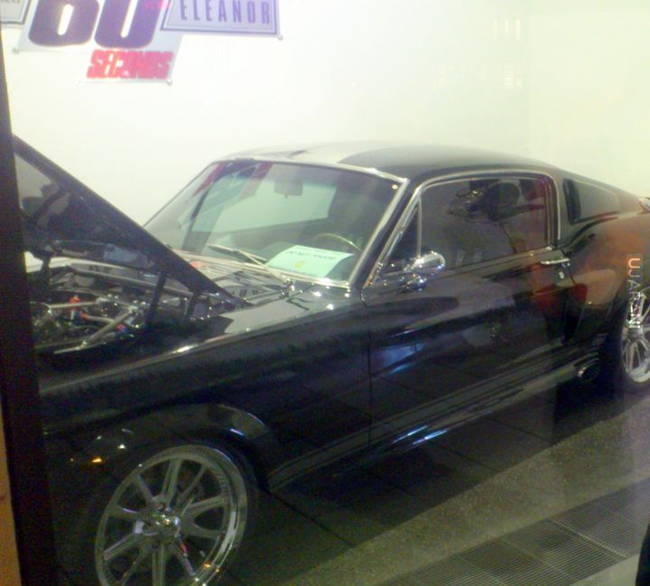 60 SECONDS Ford mustang shelby gt 500 eleanor super snake