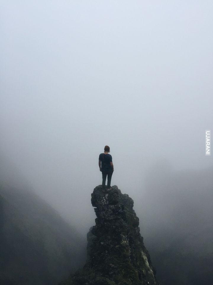 Wędrowiec ponad morzem mgły...