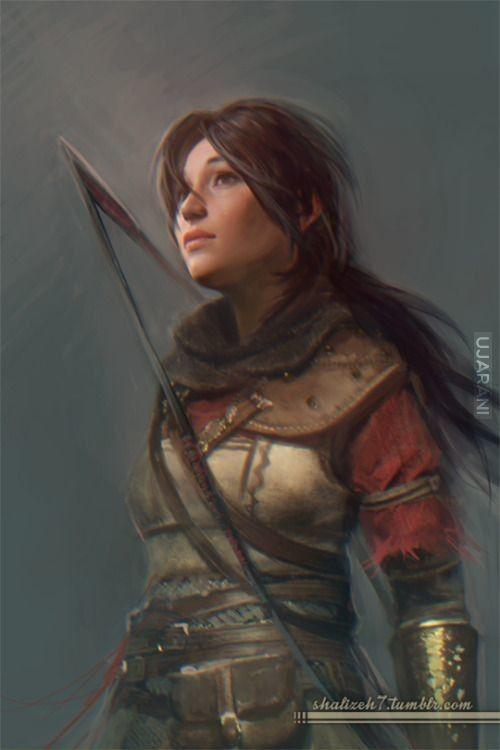 Lara W średniowieczu :D