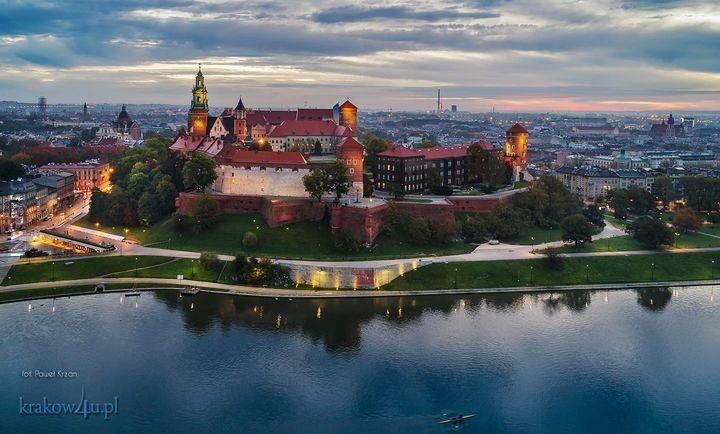 Październikowy Wawel
