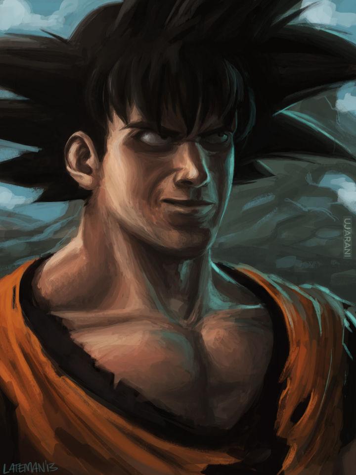 realistyczno-mroczny Dragon Ball (fan art)  (długie)