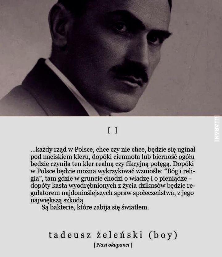 Tadeusz wciąż aktualny