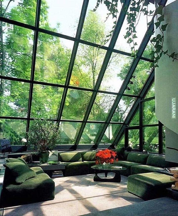 szklany pokuj relaksu