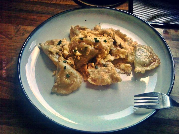 Pierogi z jajecznicą? Why not! Lemon Haze Gastro