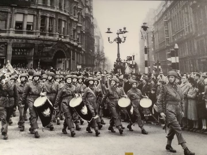 Ostatnia defilada PSZ Londyn 1947