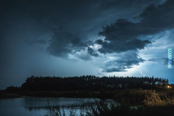 Już ostatnia fotka z tej burzy :D