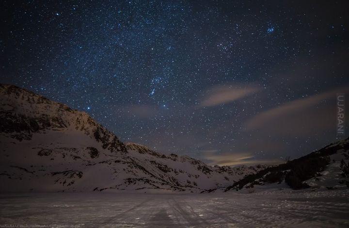 Dolina Pięciu Stawów Nocą