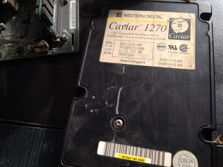 Intel x486 SX Kolejny zabytek