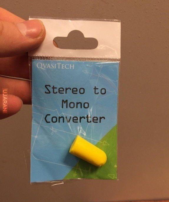 Przejściówka stereo -> mono
