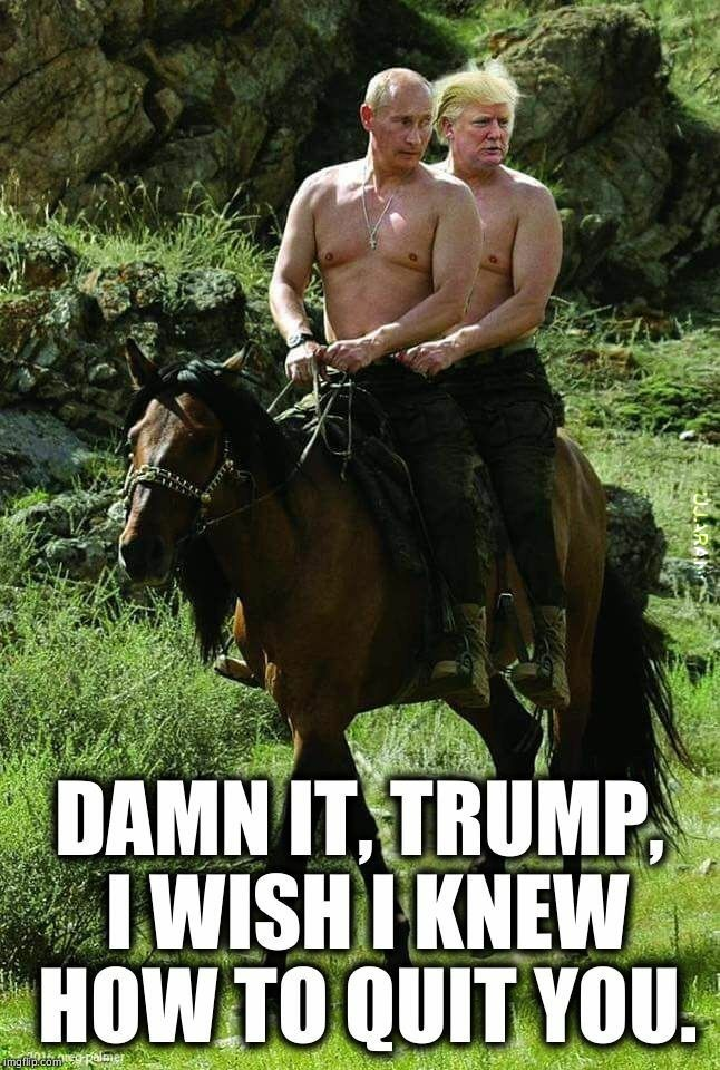 Putin i Trumpa Lovers