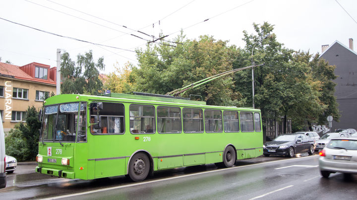 Kowno - deszczowa Litwa