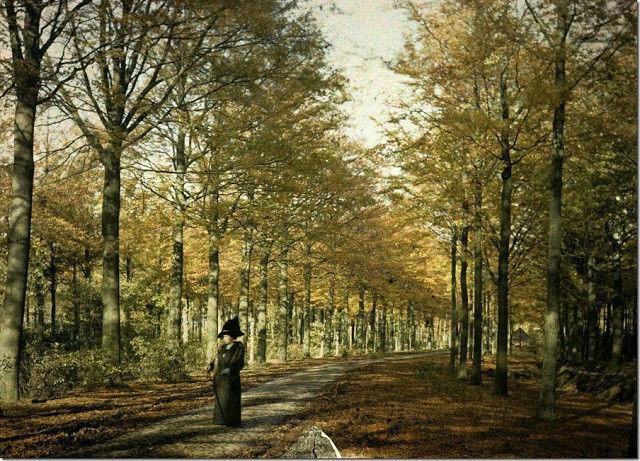 100 letnie fotografie z Belgii