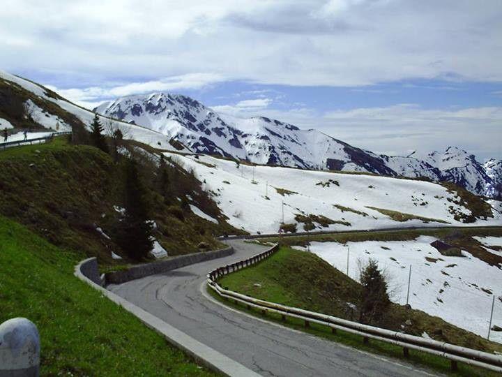 Alpy od strony Włoch : )