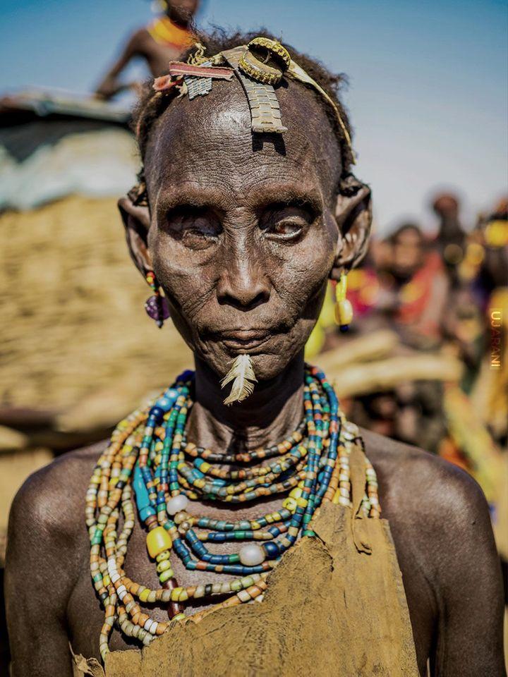 Kobieta w Etiopii
