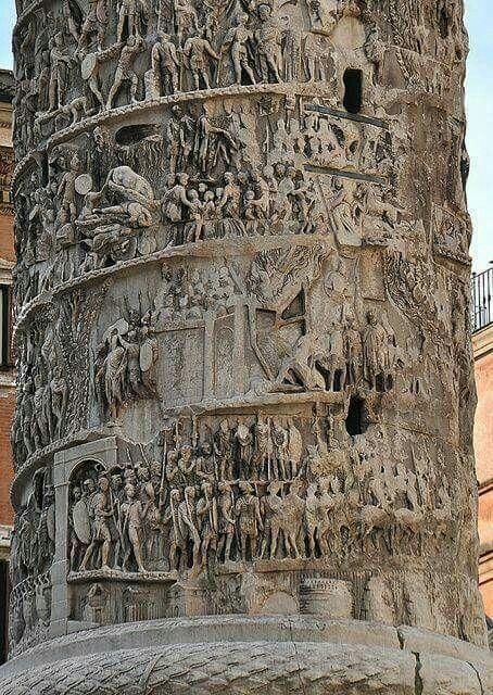 Kolumna Marka Aureliusza w Rzymie II w n.e.