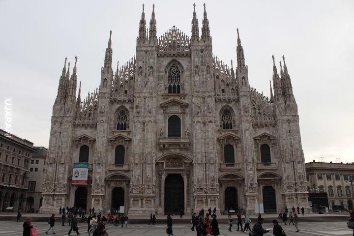 Dwanaście zdjęć z Mediolanu