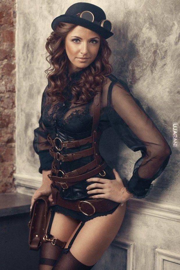 .steampunk girl 4