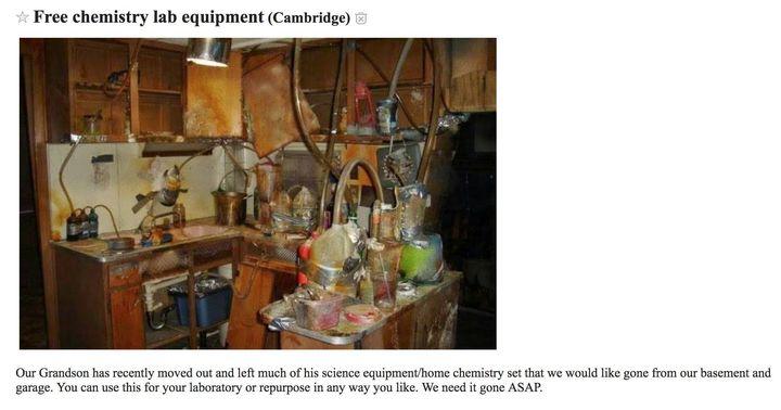 Sprzedam laboratorium wnuka
