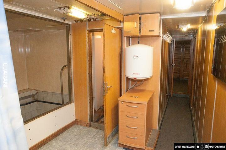 941 akuła (Tajfun) 2/3 Pomieszczenia załogi
