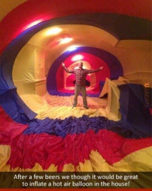 Balonowy dom