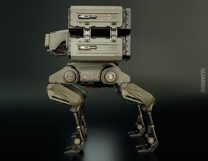 Basilisk RD-08 - jak BostonDynamics dog