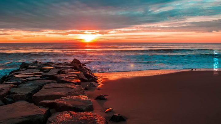 Słońce, plaża...