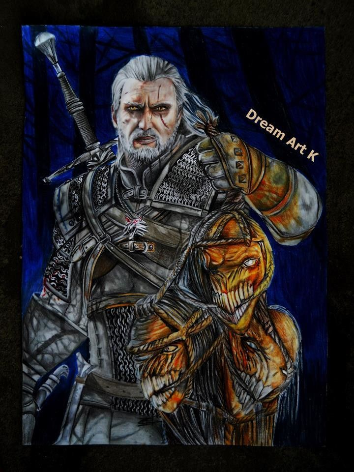 Fan Art The Witcher