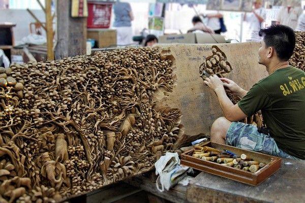 Rzeźbienie  Bangkok